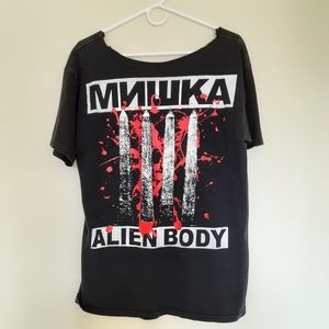 Mishka x Alien Body T-Shirt